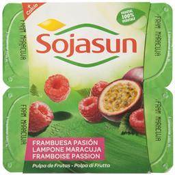 Especialidade de soja framboesa/maracujá