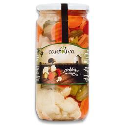 Pickles em frasco
