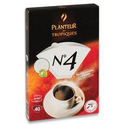 40 filtros café número 4