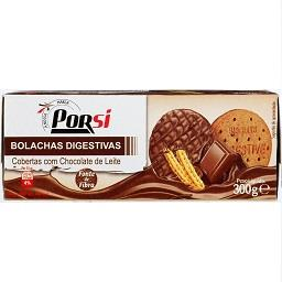 Bolachas digestive chocolate