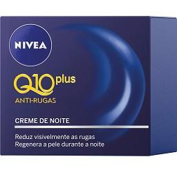 Creme de Noite Anti-Rugas, Q10 Plus