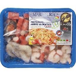 Preparado Arroz Marisco s/Gluten