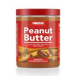 Manteiga de amendoim com pedaços de nozes pécan cara...