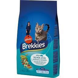 Alimento seco para gato de peixe