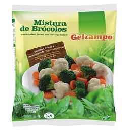 Mistura de brócolos