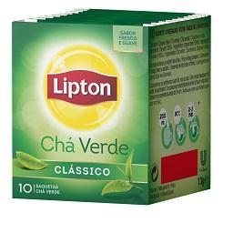10 saquetas chá verde clássico