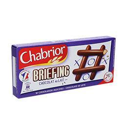 Briefing chocolate leite 150g