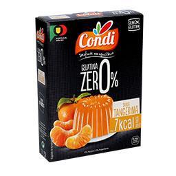 Gelatina zero tangerina