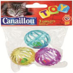 Brinquedo com guizos para gato