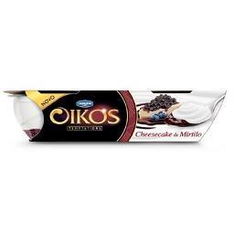 Iogurte oikos cheescake e mirtilo