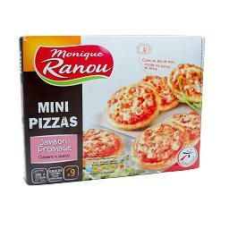 Mini Pizzas Queijo/Fiambre