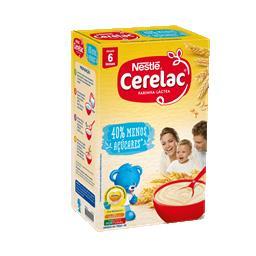 Farinha láctea -40% de açúcar