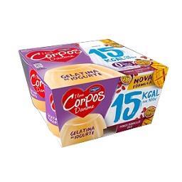 Gelatina de iogurte corpos danone manga/maracujá/goj...