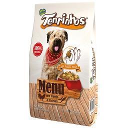 Alimento seco p/ cão tenrinhos frango