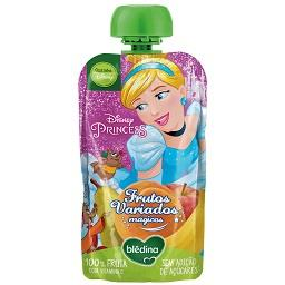 Saqueta frutapura frutos variados - princesas