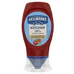Ketchup 50% menos açúcar