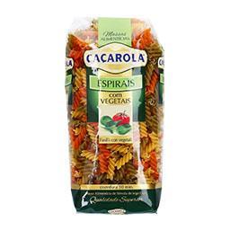 Espirais com vegetais 500 g