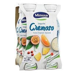 Iogurte líquido frutos tropicais e guarana