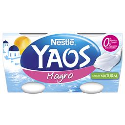 Iogurte grego magro natural
