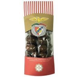 Saqueta de amêndoas com chocolate SL Benfica