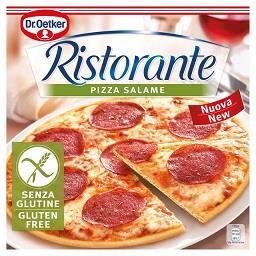 Pizza ristorante s/ gluten salame