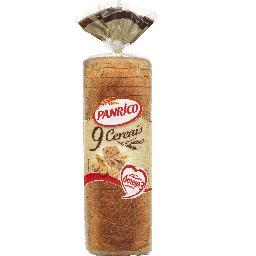 Pão de forma 9 cereais