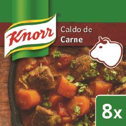 Caldo Carne 8 Cubos