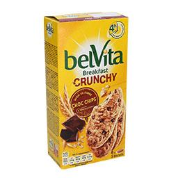 Bolacha belvita crunchy chocolate