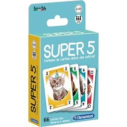 Jogo cartas Super 5