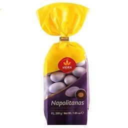 Amêndoas C/ Chocolate Napolitanas