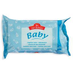 Toalhitas de bebé, recarga, 72 unidades