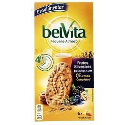 Belvita plain frutos silvestres
