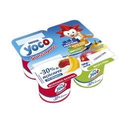 Yoco suissinho -30% de açúcares