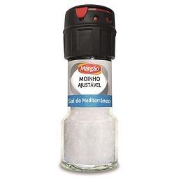 Moinho ajustável sal mediterrânico