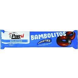 Bolachas bambolitos chocolate e leite