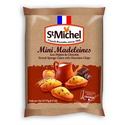 Mini Madalenas Chocolat Chips