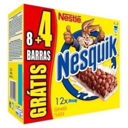 Barras Nesquik 8+4 grátris