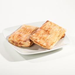 Folhado de queijo/bacon