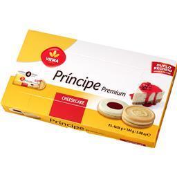 Bolacha príncipe cheesecake
