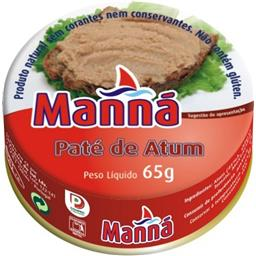 Pasta de atum 65gr manna