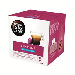 Café em cápsulas dolce gusto descafeinado