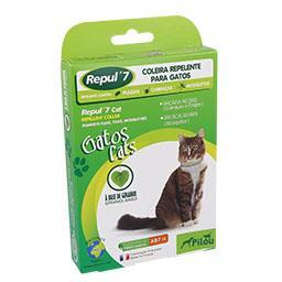 Coleira repelente para gatos