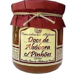 Doce de Abóbora com Pinhões Extra
