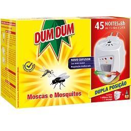 Inseticida elétrico, moscas e mosquitos, 45 noites