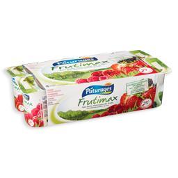 Iogurte com pedaços, frutos vermelhos