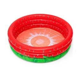 Piscina de brincar morango