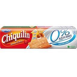 Bolachas Chiquilin 0% Açucar