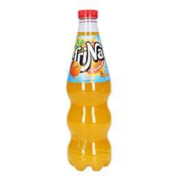 Refrigerante sem gás laranja