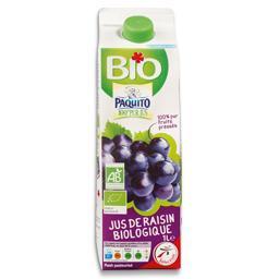 Sumo fresco de uva biológico