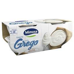 Iogurte estilo grego sabor natural açucarado